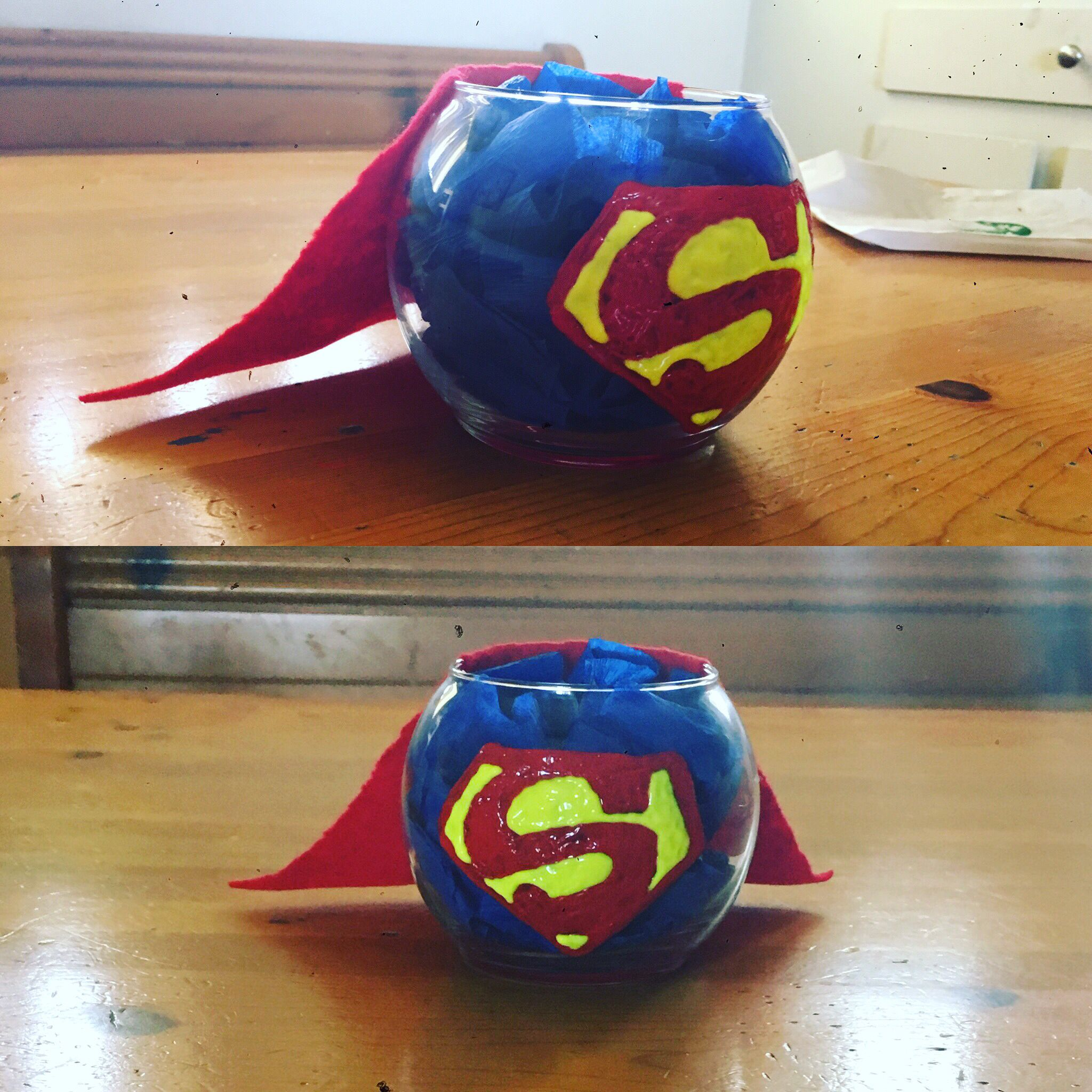 Centerpiece Superhero Baby Showersuperhero