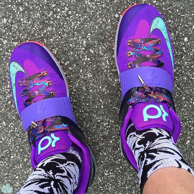 "Nike KD 7 ""Cave Purple"" 