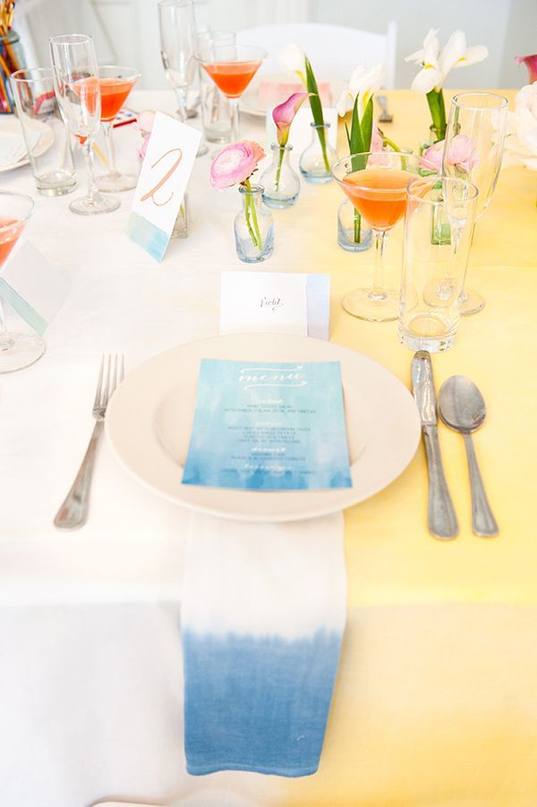Color Trend Watercolor Wedding Ideas Weddings Watercolor Wedding