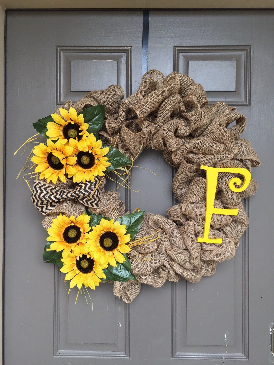 Personalized front door decorations - What A Perfect Addition To The Front Door For The Spring Summer Time This
