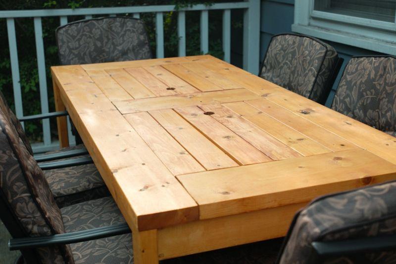 Gartentisch selber bauen - Anleitung - DIY, Garten, Haus  Garten, Möbel - gartenmobel selber bauen anleitung