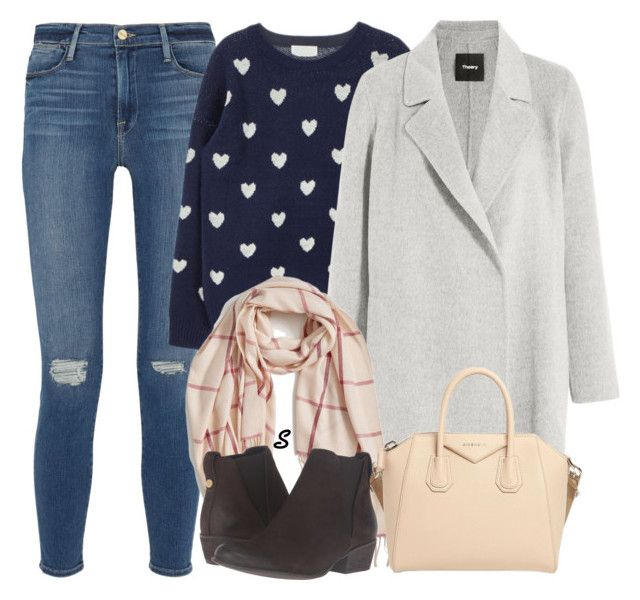 """Без названия #1123"" by sabina-127 on Polyvore featuring мода, Frame Denim, Theory, Nordstrom, Givenchy и Steve Madden"