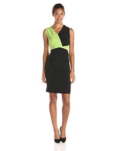 Kasper Women's Cap Sleeve Color Block Dress, Key Lime/Black, 4 Kasper http://www.amazon.com/dp/B00TV1UKMC/ref=cm_sw_r_pi_dp_D7kBwb0SGXDVG