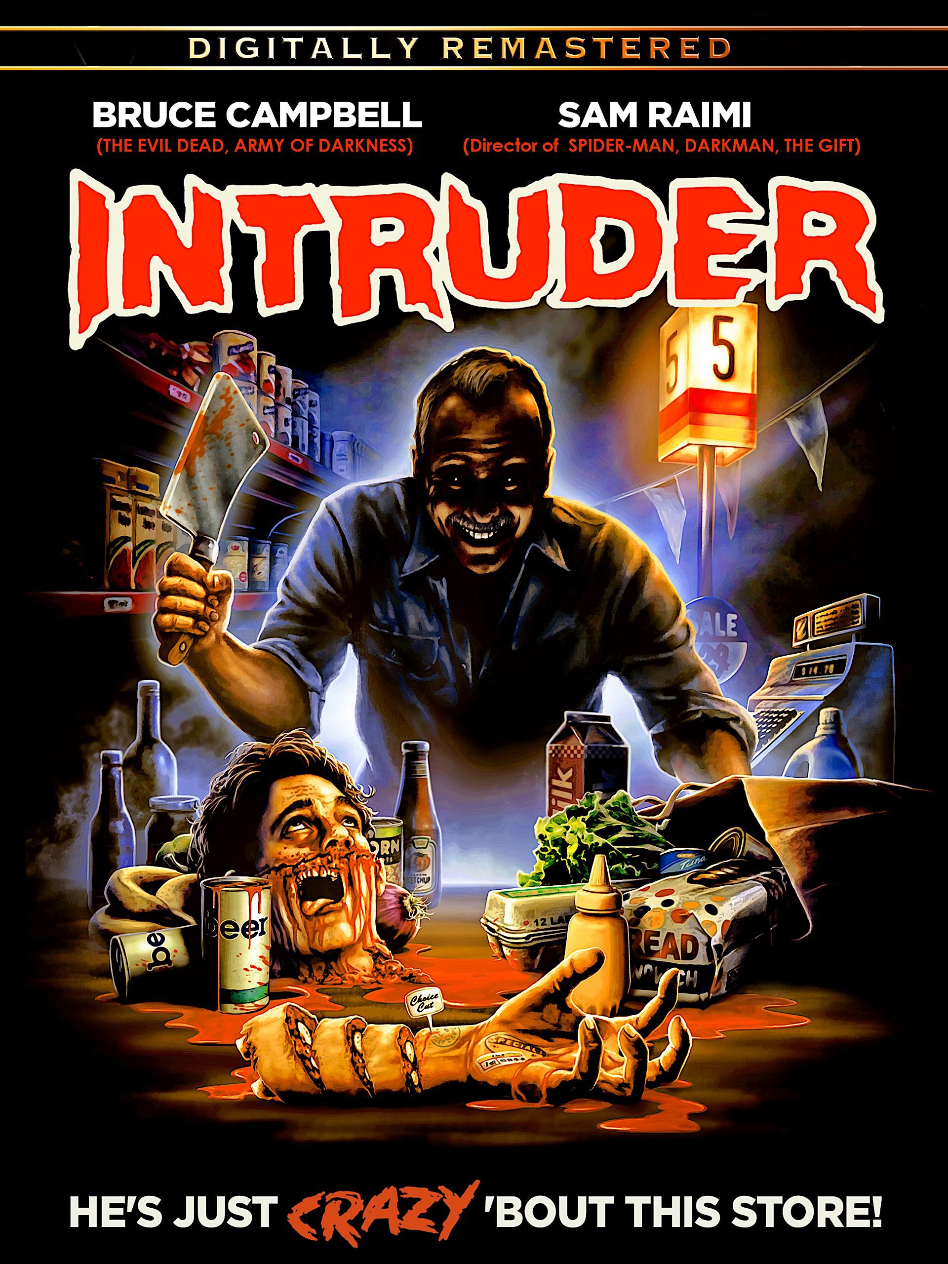 INTRUDER REMASTERED 30TH ANNIVERSARY EDITION DVD (FULL