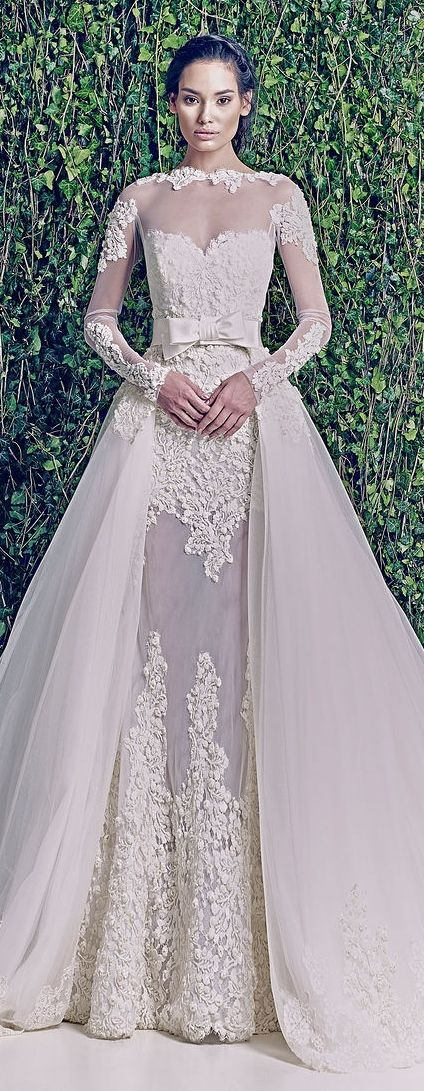 Wedding Dresses: Zuhair Murad Bridal Fall 2014 | Pinterest | Zuhair ...