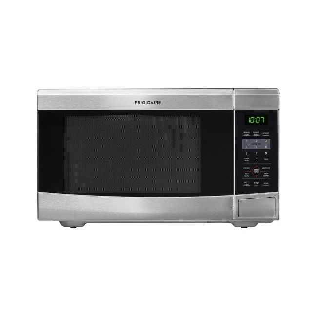 Frigidaire Stainless Steel 1 1 Cubic Foot Countertop Microwave As