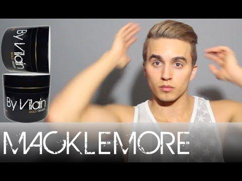Macklemore hair tutorial by Dre Drexler - By Vilain Gold Digger