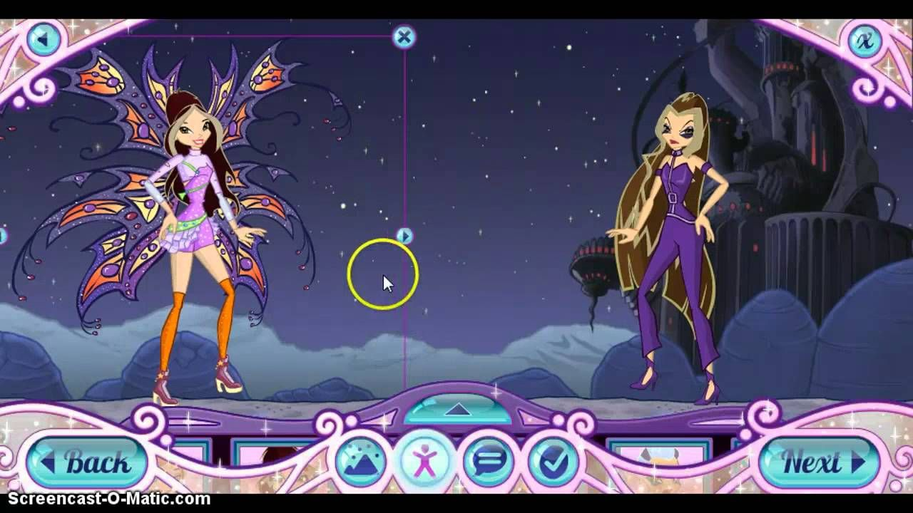 Dress up winx club - Winx Mermaid Dress Up Winx Club Dress Up Download
