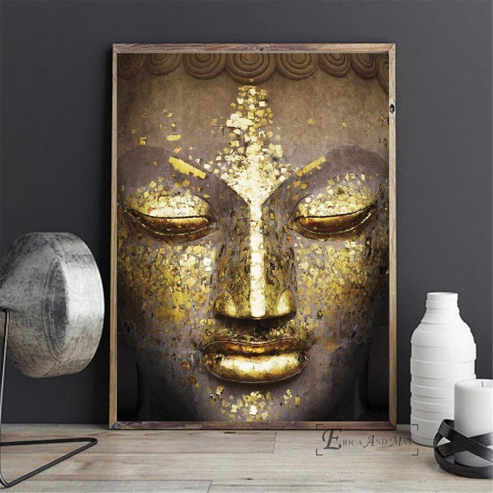 buddha leinwand xxl  best style news and inspiration