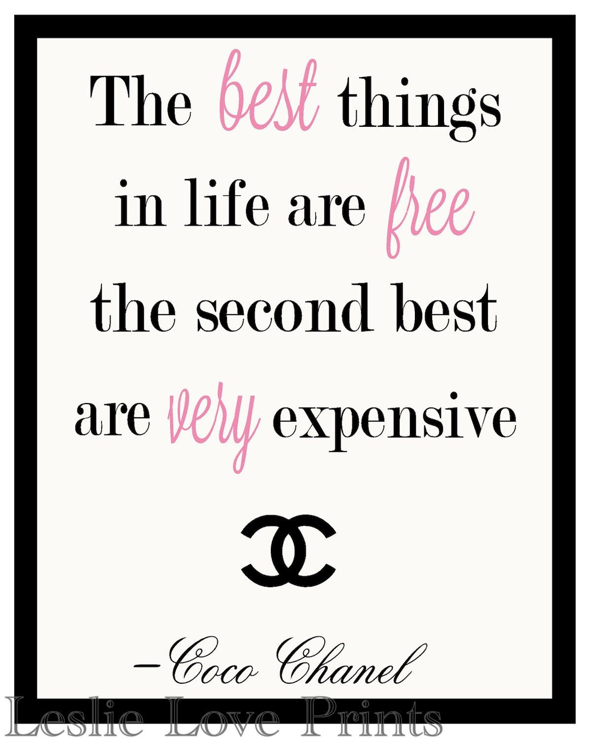 67 Famous Fashion Quotes to Ignite & Inspire You | Chanel