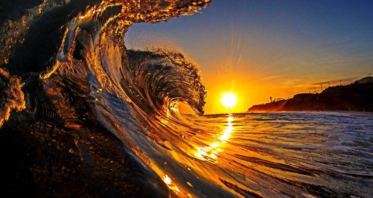 Image Result For Ultra Hd 8k Sunset Surf Waves Wallpaper Sunset Wallpaper