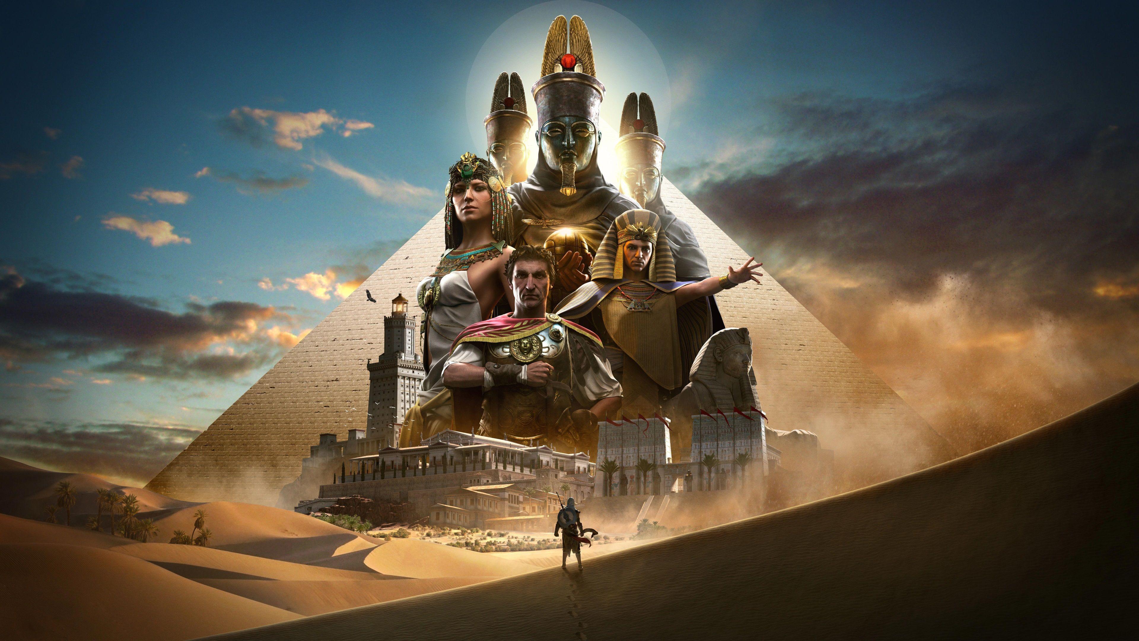 3840x2160 Assassins Creed Origins 4k Best Wallpaper For Desktop Background Assassins Creed Origins Assassins Creed Assassin S Creed