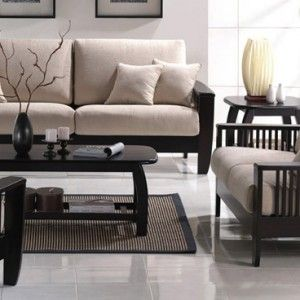 2915 L 1 Com Imagens Sofa De Madeira Apartamentos Pequenos Estofados