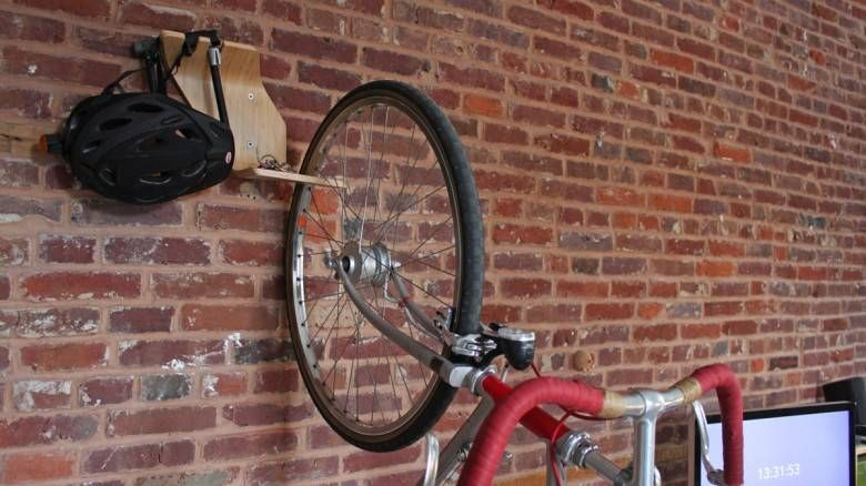 10 Ways To Hang Your Bike On The Wall Like A Work Of Art Interior Design Bike Storage Standing Bike Rack Bike Hanger Bicycle Hanger