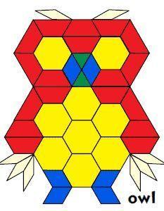 JessicaS Pattern Block Mats Printables Free Pattern Block