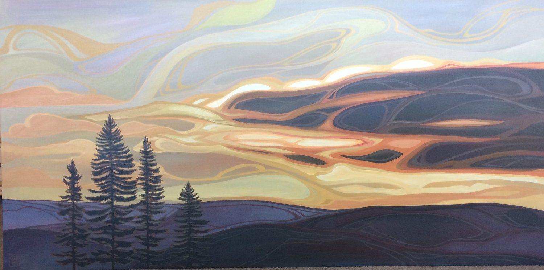 Subdued Opulence Ottawa art, Space gallery, Art