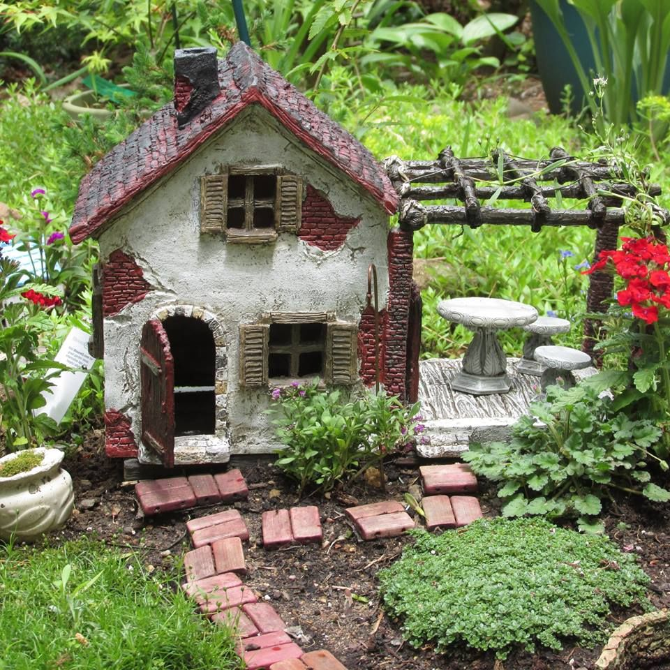 Rustic Gazebo Fairy House | Fairies | Pinterest | Fairy houses ...
