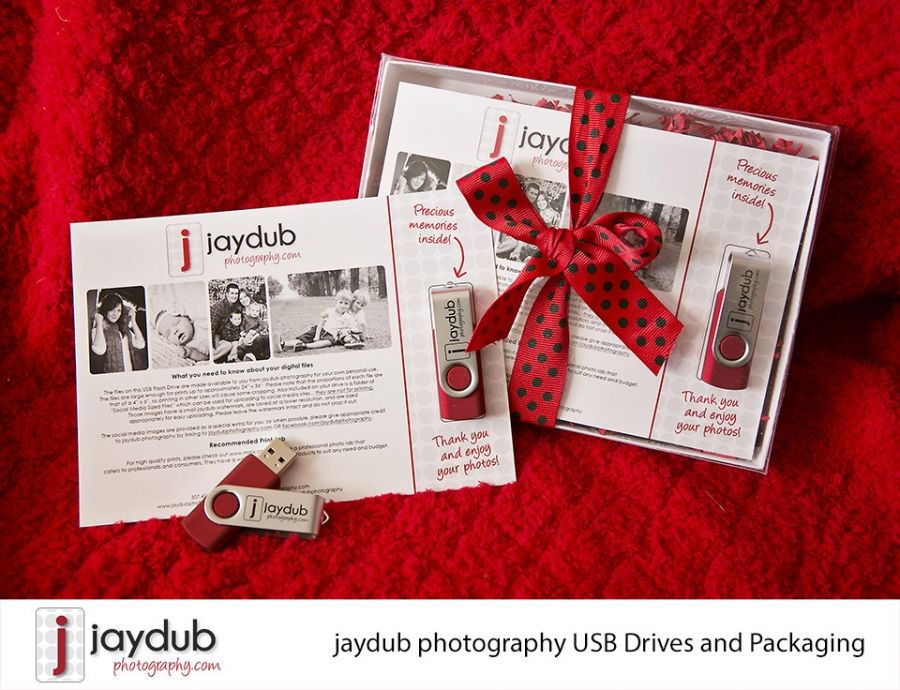 USB Packaging Idea for Photographers