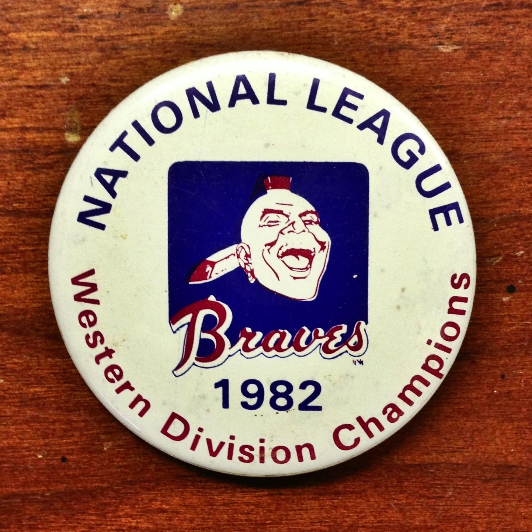 Atlanta Braves Baseball 1982 National League Western Division Championships Atlanta Braves Atlanta Braves Baseball Braves Baseball