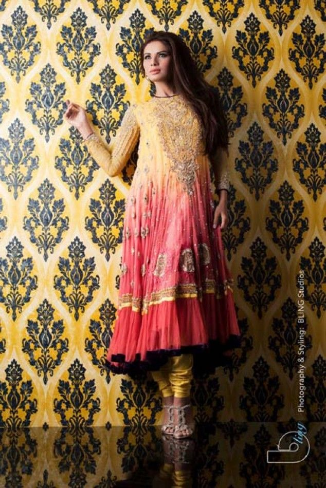 Kosain Kazmi Kamdani Bridal Wear Collection 2013 | Latest Fashion Trends