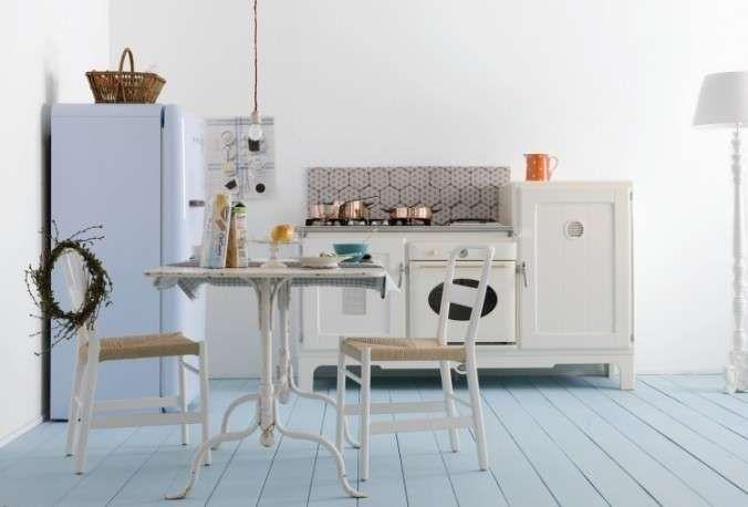 Cucine vintage Anni \'50 - Frigo stondato | Cucina vintage, Cucine ...