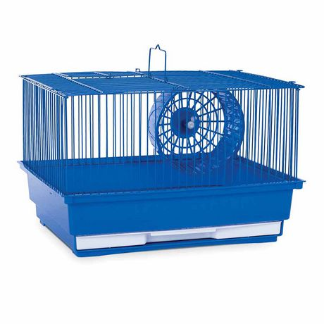 Prevue Pet Single Story Hamster And Gerbil Home Blue One