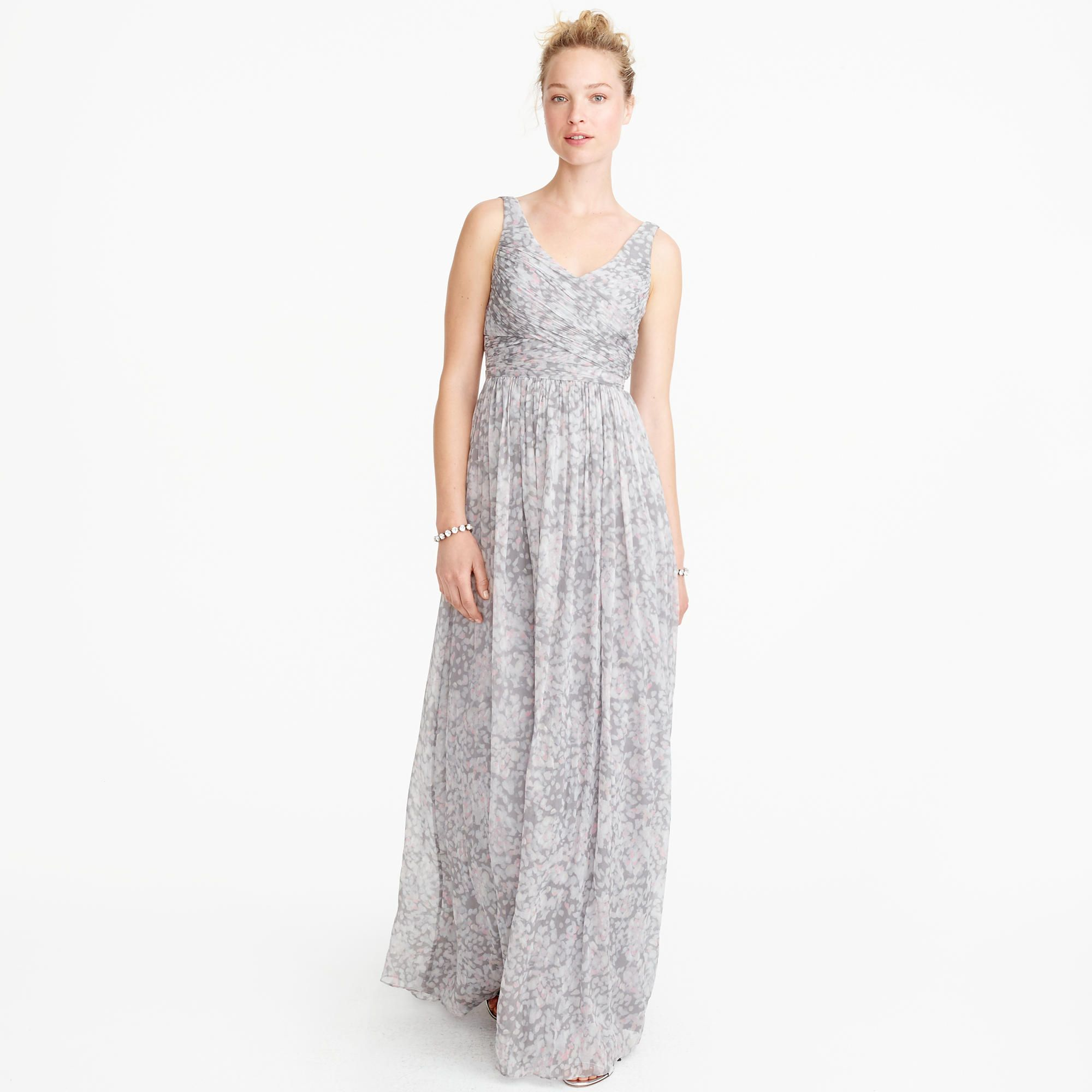 Heidi long dress in watercolor silk chiffon fashion heidi long dress in watercolor silk chiffon long dressesdress inchiffonwatercolorsbridesmaid ombrellifo Choice Image