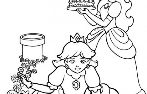 Cute Girly Coloring Pages | Coloring Pages | Pinterest