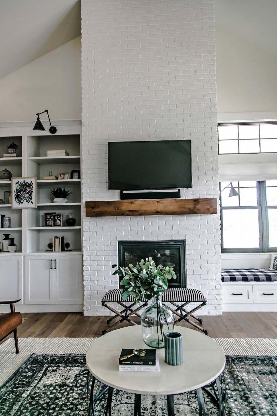 Dekorieren Mit Einem Fernseher Im Wohnzimmer