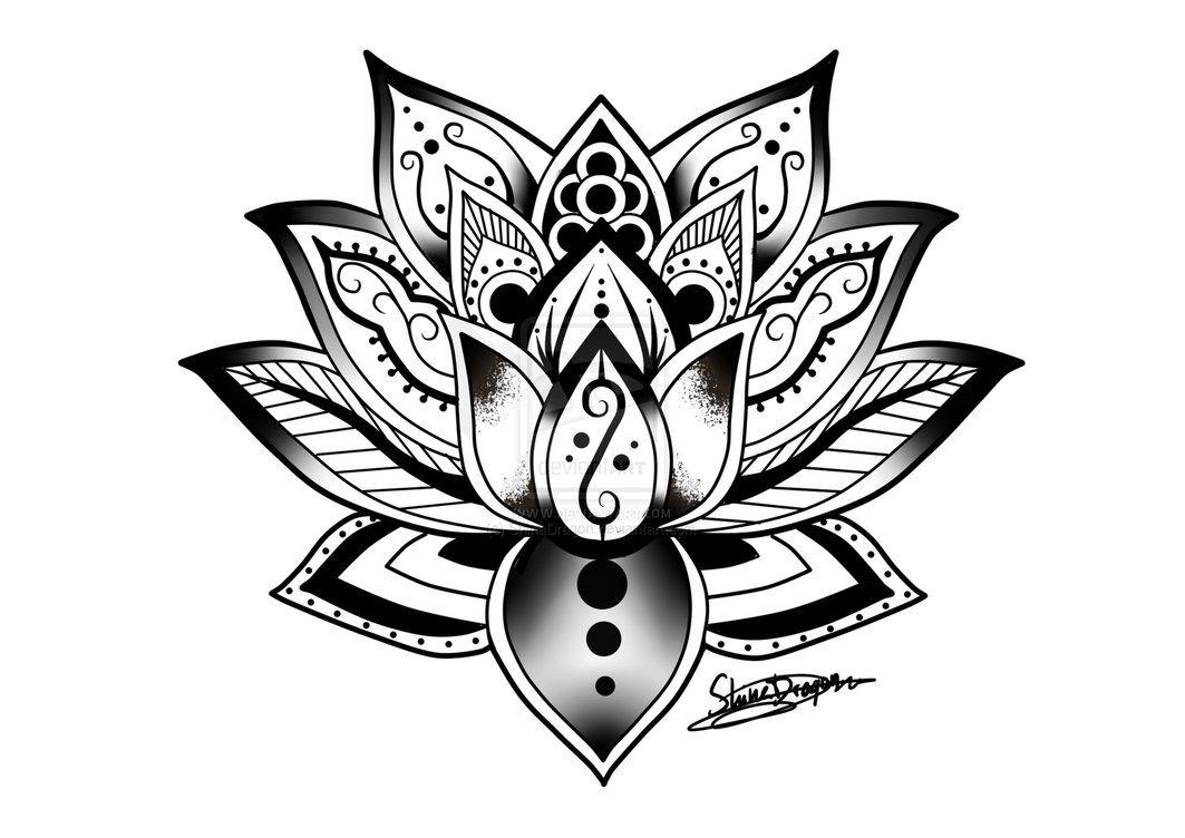 Mandalas De Animales Para Pintar Abstracto Pintar Tattoo: Mandala By ShinaDragon On DeviantART