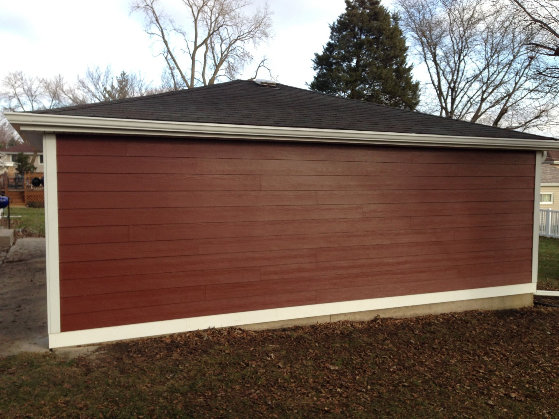 James Hardie Siding Countrylane Red Countrylane Red Is
