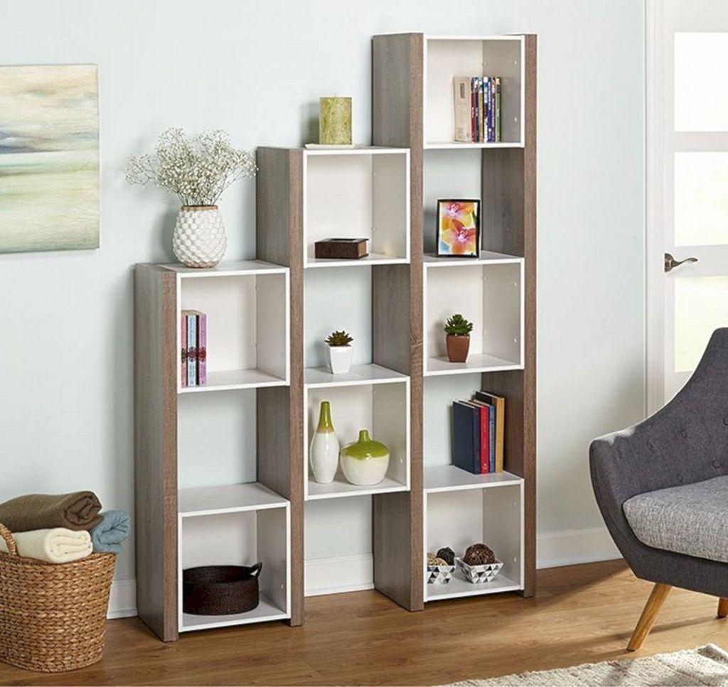 35 The Best Bookshelf Decor Ideas For Your Living Room Bookshelf Bookshelfdecorbuiltin D Zimmergestaltung Bücherregal Raumteiler Bücherregal Design