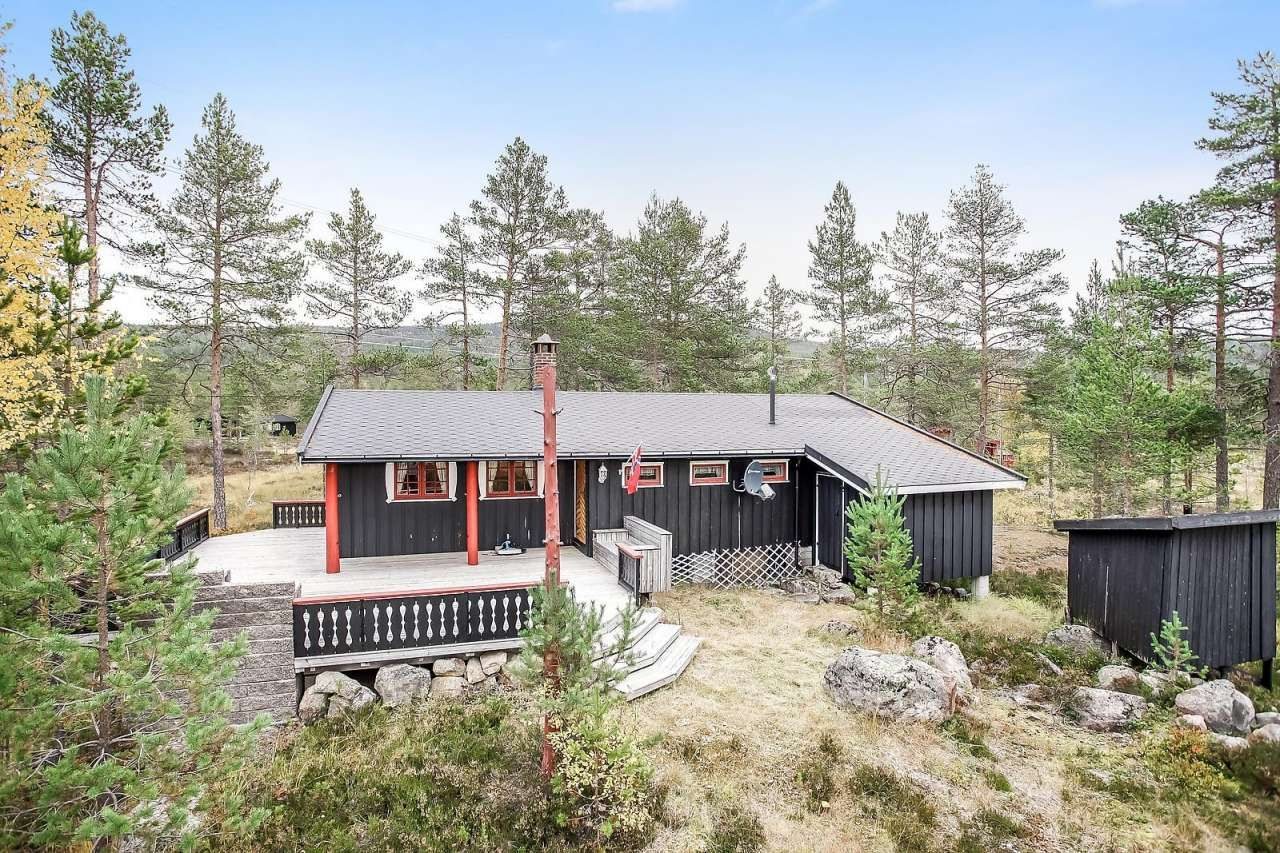 FINN – Hytte Blefjell nær Buvann i Jondalen medgode bade -og fiskemuligheter i flott turterreng