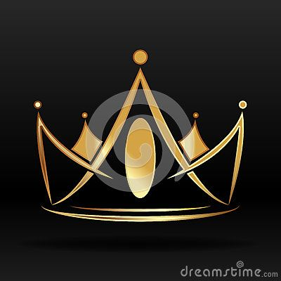 793763e03b Golden crown for logo and design