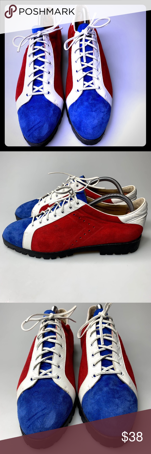 Vtg Paul Mayer Casual Shoes Fashion Sneakers 10 M Vtg Paul Mayer Casual Shoes Fa... 1