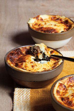 Photo of Lamb & Eggplant Casserole. Reduce the cinnamon, nutmeg, and allspice in the lamb…