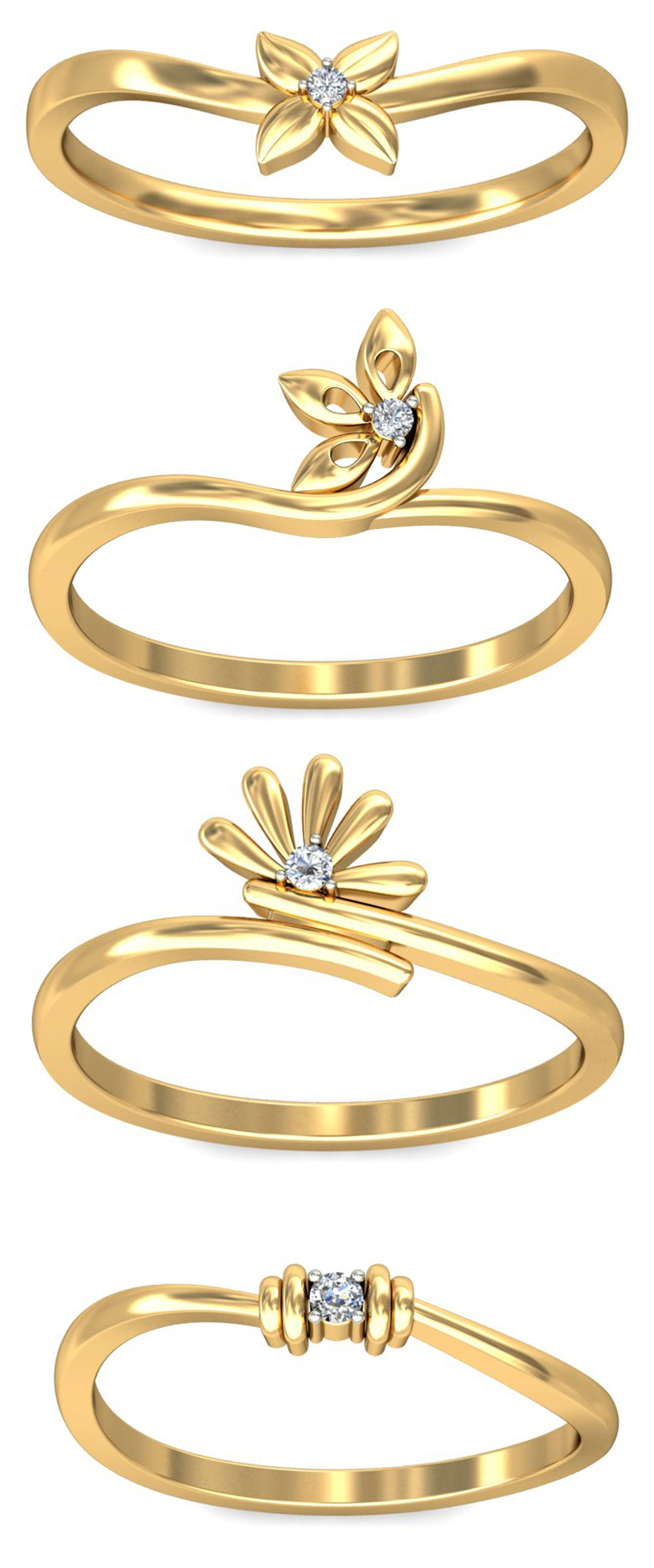 khanna jewels .com offers Diamond Gold Rings online at lowest ...