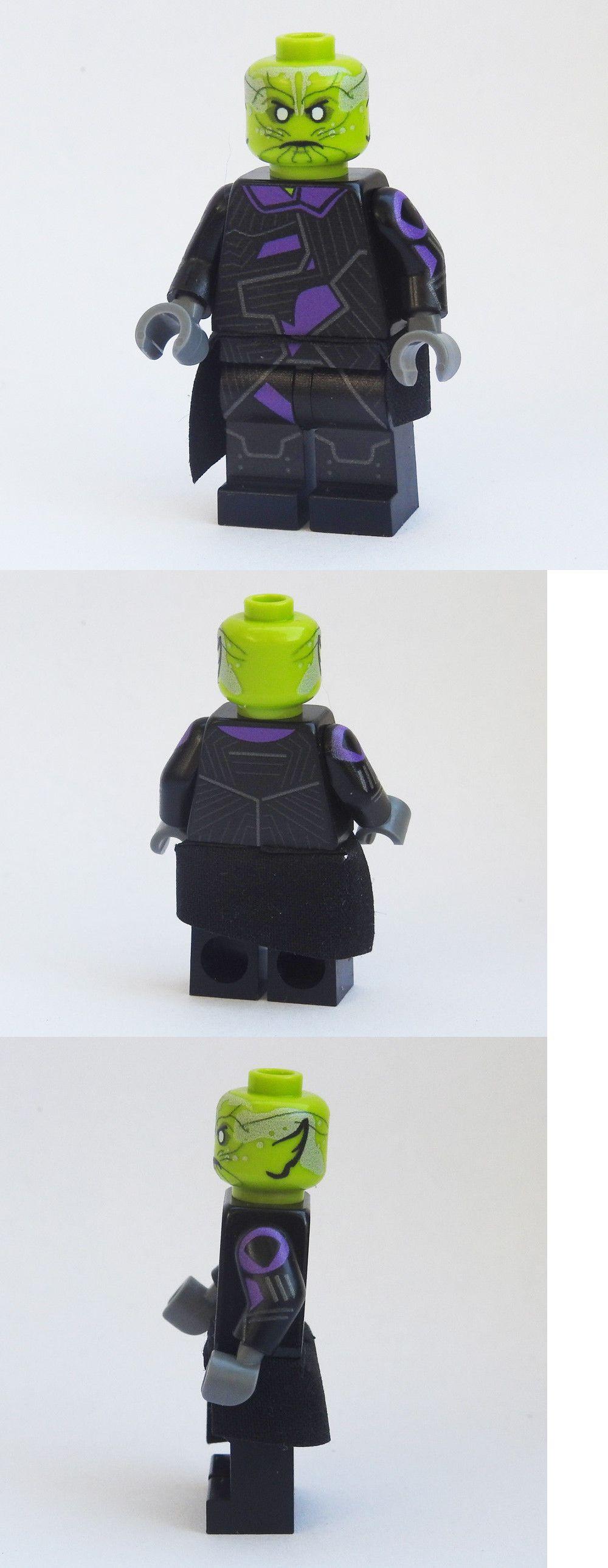 Minn-Erva MCU Custom Marvel Super heroes minifigures Captain on lego bricks