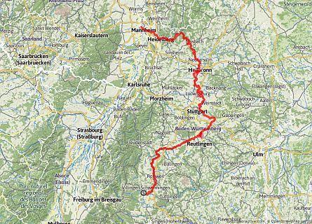 Neckartal Radweg Radweg Radfahren Und Radwege