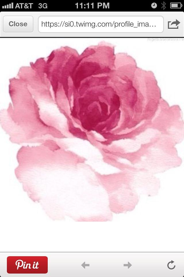 Peony Watercolor Flower Tattoos: Watercolor Rose, Watercolor Flowers