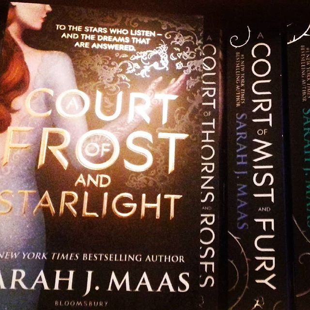 Uk Publication Day Acourtoffrostandstarlight It S So Pretty