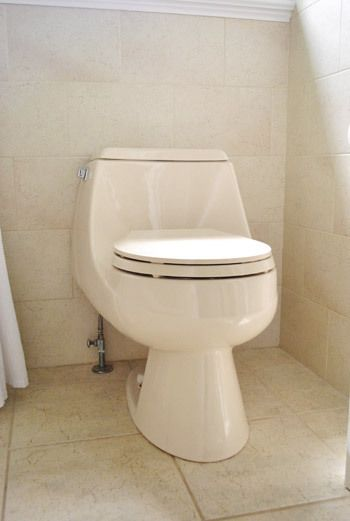 Ideas to Update your Almond Bathroom  Toilets, Tubs ...