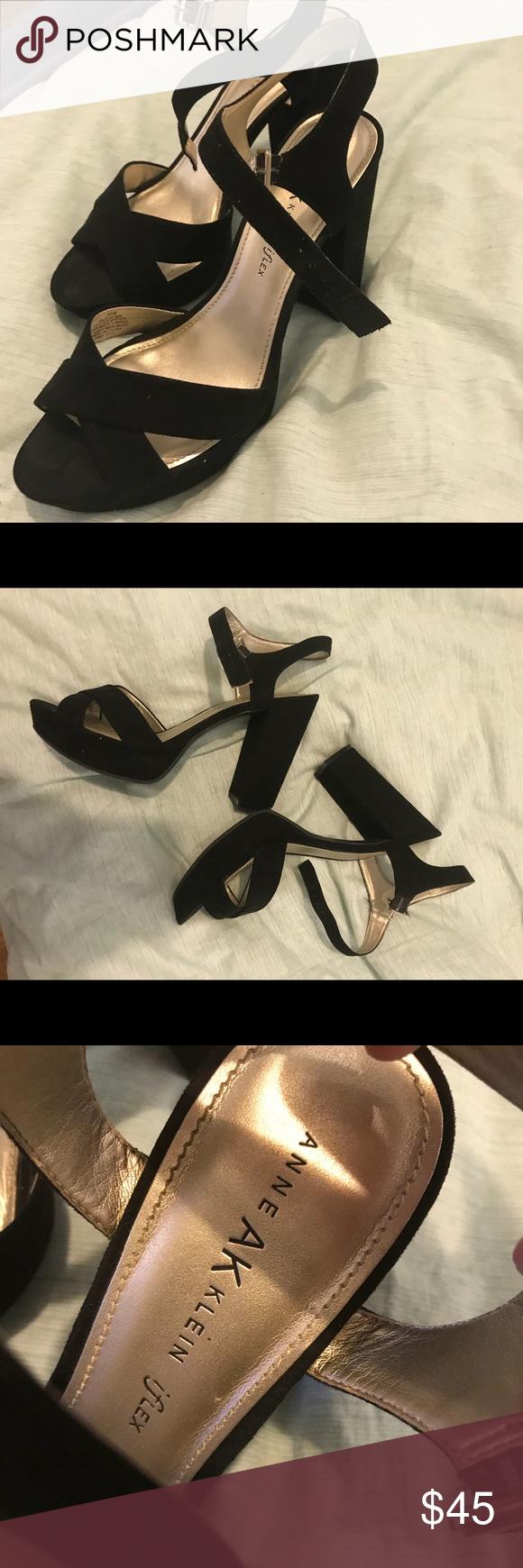 Platform heels, Anne klein shoes