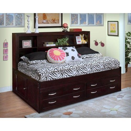 Full Size Beds With Drawers New Clic Malibu Lounge Bed Storage And