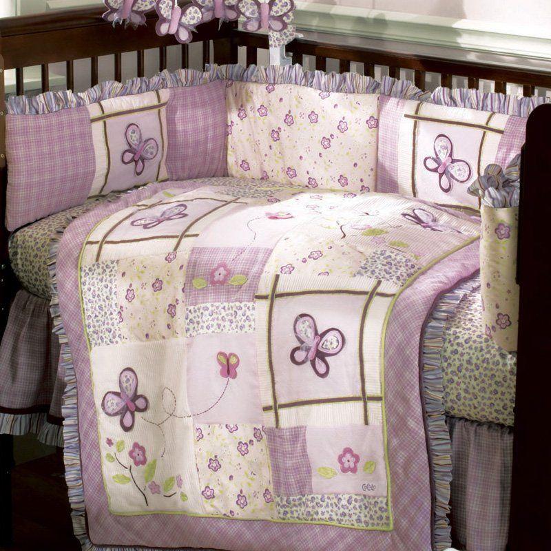 Cocalo Sugar Plum 6 Piece Crib Bedding Set Cuarto Bebe Crib