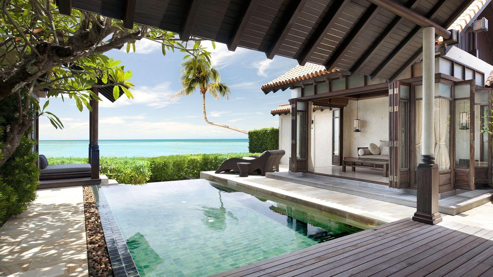 Ocean Front Pool Villa Spa, Resort spa, Hotels, resorts
