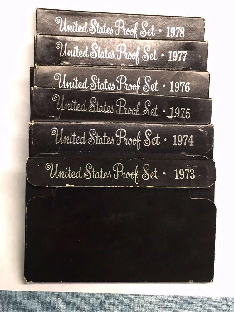 SILVER+DEALER SALE PROOF//SMS SET LOT-FROM ESTATE-1965-2006 1lot=6sets U.S