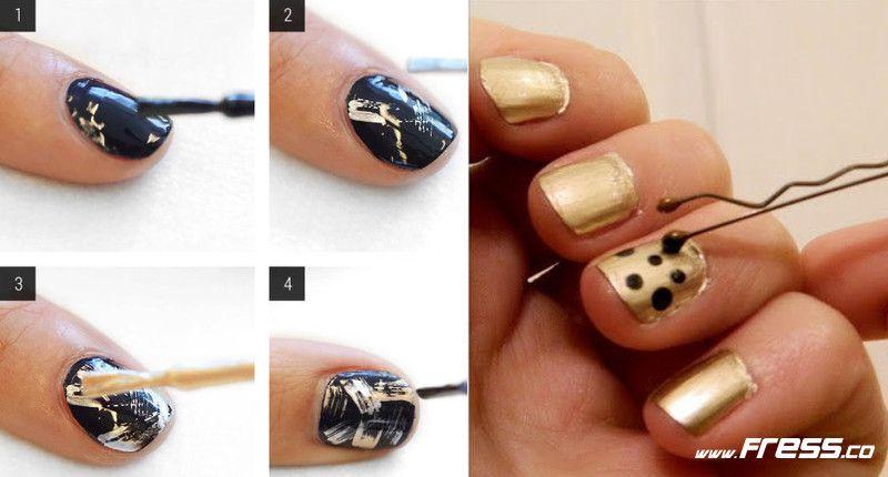 11 Sencillos Trucos Para Pintarse Las Uñas De Forma Original
