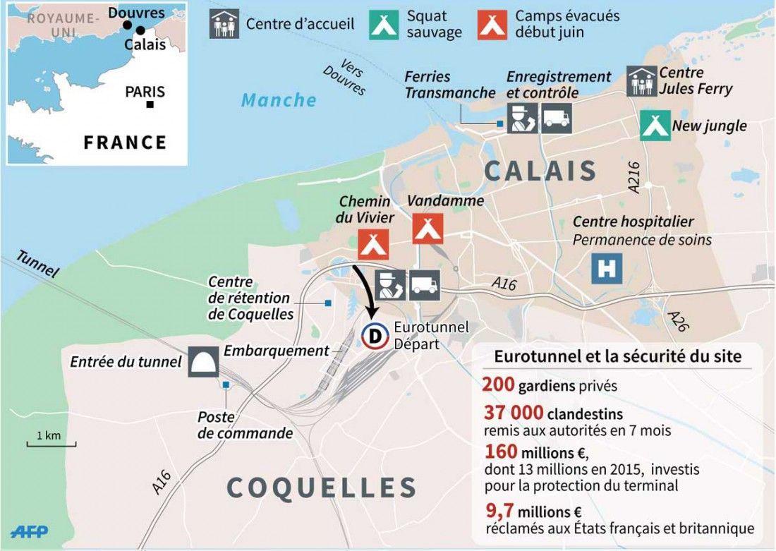 Calais Et Si La France Laissait Partir Les Migrants Vers L Angleterre Les Migrants France Calais