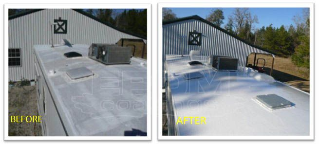 4 Rv Roof Care Tips Liquid Roof Roof Coating Roofing